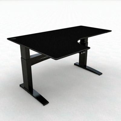 COnSet venstrevendt hæve-sænkebord