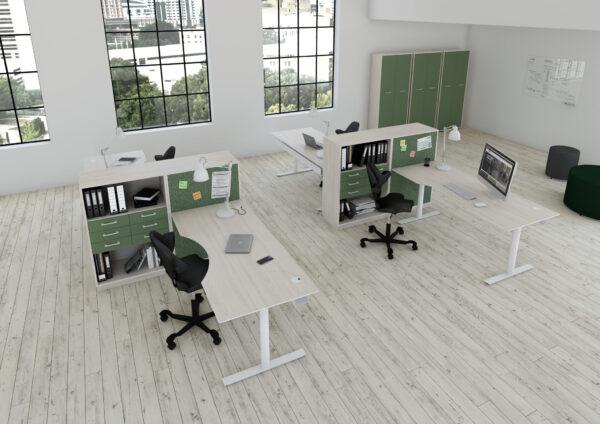 Fumac InLINE multibordplade skrivebord